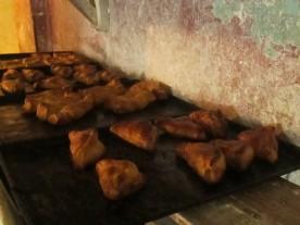 Empanadas de crema (Cream pasties)