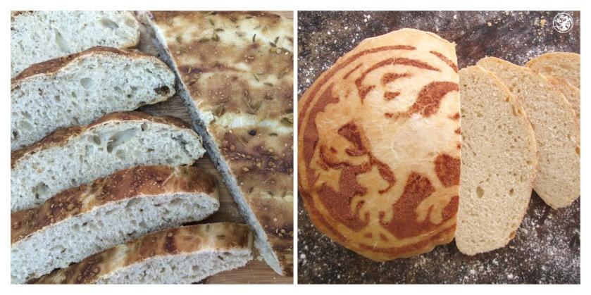 Nan e Barbari and Colonial bread (Floreado)