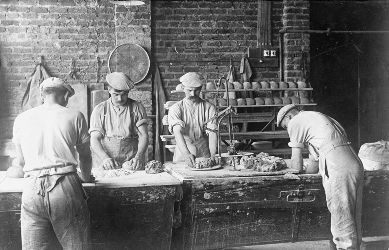 Army Bakery Wervicq Flanders 1916 Imperial War Museum