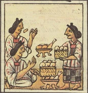 Aztec Cooking Florentine Codex