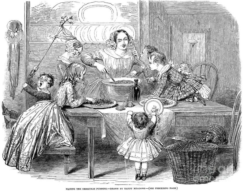 christmas pudding 1848
