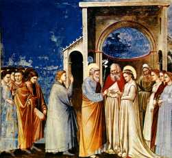 Giotto medieval wedding
