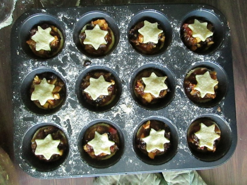 Mince pies tray