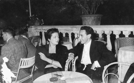 Marcela Hazan and husband