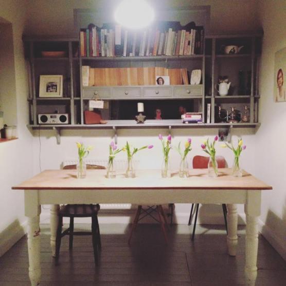 Miriams kitchen table