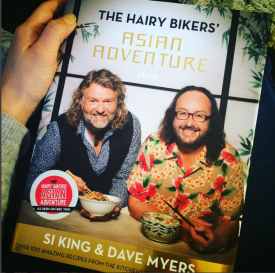 the hairy bikers aisan adventure book